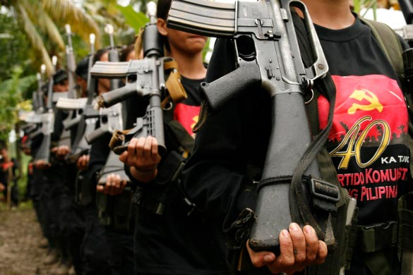 The CPP-NPA employs extortion and threats to fund its revolution to turn the Philippines into a freedom-less, rights-less socialist slave pen...