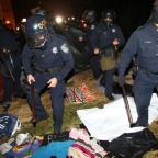 The Razing of Occupy Oakland at Sunrise