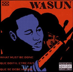 "Wasun, one of Toronto's elder underground revolutionary rappers, has something to say about this question too. Listen to ""Comrade Music,"" one of his more recent tracks. Also check out one of his most popular revolutionary LPs, What Must Be Done, available at http://dezflight-underground.com/albums-in-english/wasun-what-must-be-done-ep-2008.html"